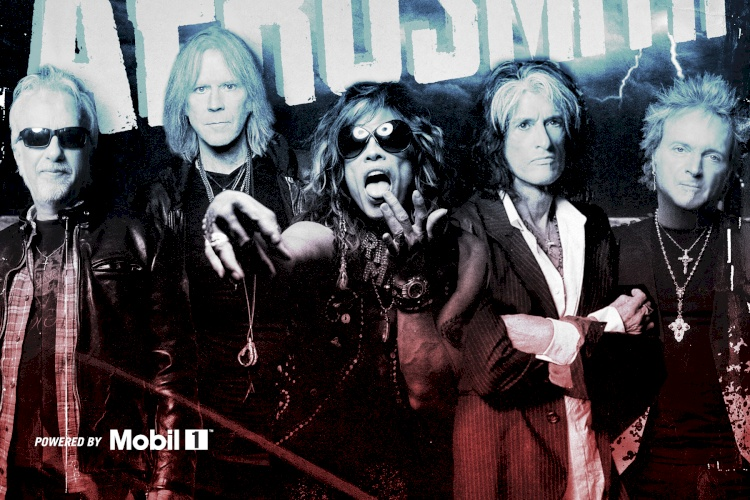 AEROSMITH LEADS AUSTIN FAN FEST POWERED BY MOBIL 1