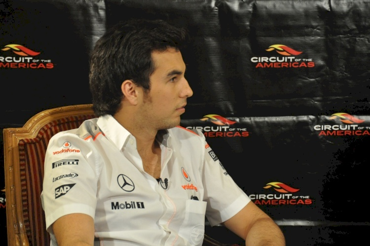 Sergio Perez Exclusive Q&A
