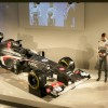 Sauber introduces its new drivers, Esteban Guitierez and Nico Hulkenberg (formerly of Sahara Force India) and its new Sauber C32.